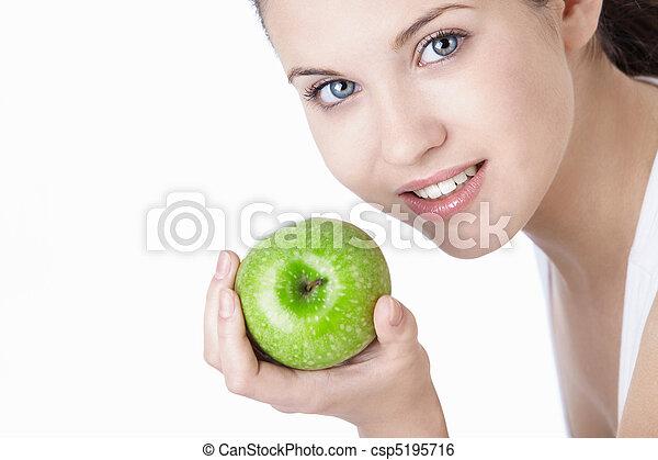 זהירות של השיניים - csp5195716
