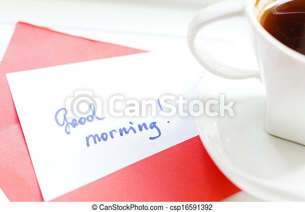 זמן של בוקר - csp16591392