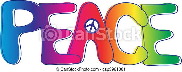טקסט, שלום - csp3961001