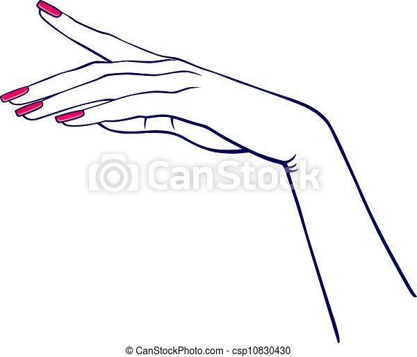 יד של אישה - csp10830430
