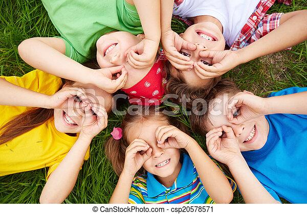 ילדים, לנוח - csp20578571