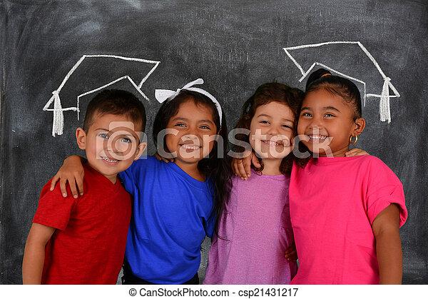 ילדים של בית הספר - csp21431217