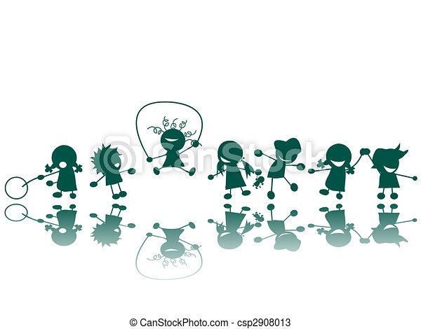 ילדים, שמח - csp2908013