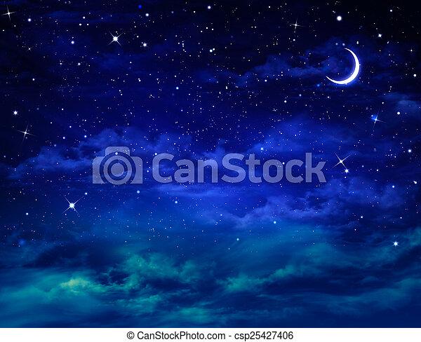 יפה, nightly, רקע, שמיים - csp25427406