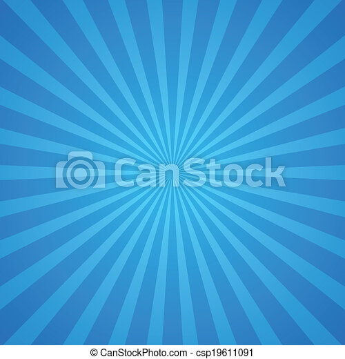 כחול, קרנות, רקע - csp19611091