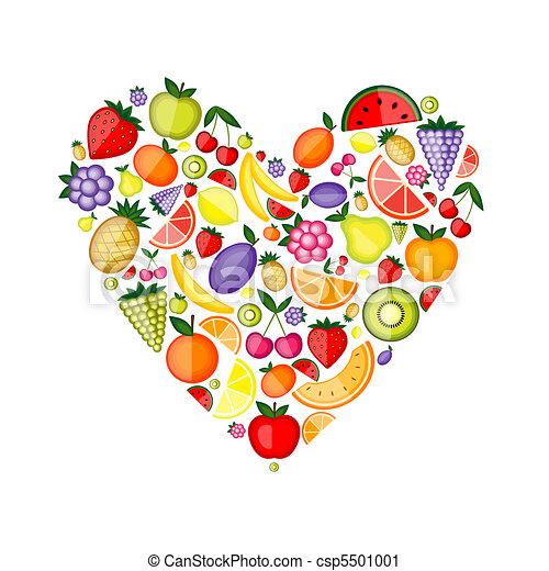 לב, אנרגיה, עצב, פרי, עצב, שלך - csp5501001
