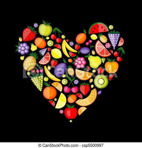 לב, אנרגיה, עצב, פרי, עצב, שלך - csp5500997