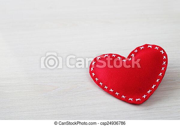 לב, יום של ולנטיינים - csp24936786