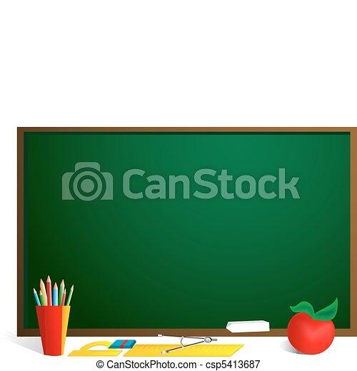 לוח, בית ספר - csp5413687