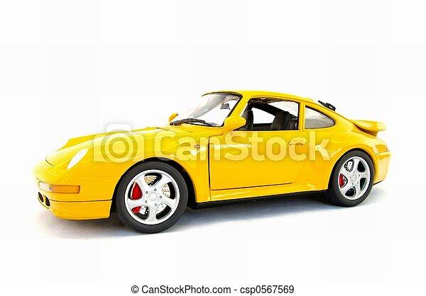 מכונית, דגמן, ספורט - csp0567569