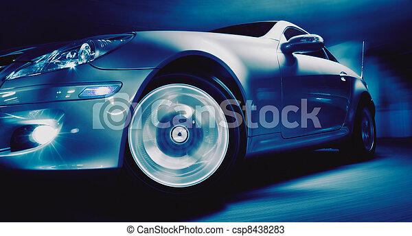מכונית, ספורט - csp8438283