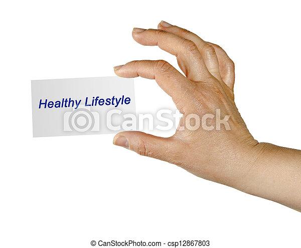 סגנון חיים בריא - csp12867803