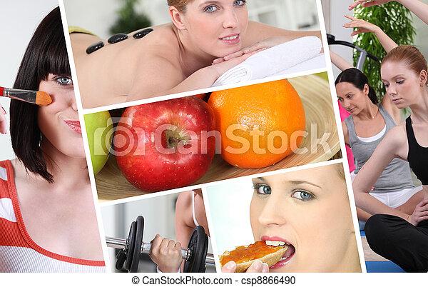 סגנון חיים בריא - csp8866490