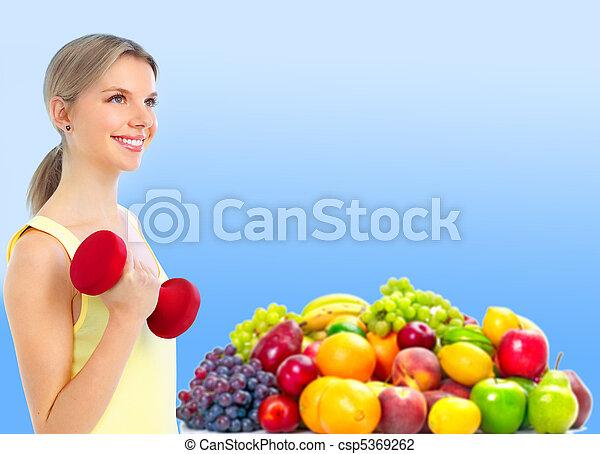 סגנון חיים בריא - csp5369262