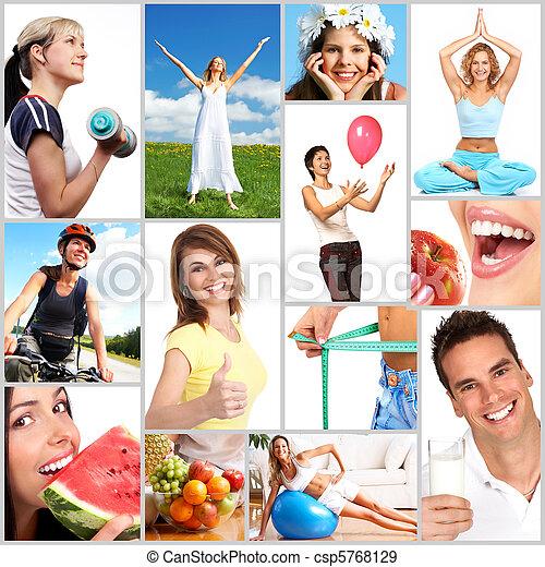 סגנון חיים בריא - csp5768129