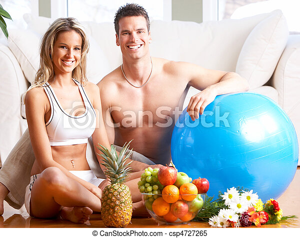 סגנון חיים בריא - csp4727265