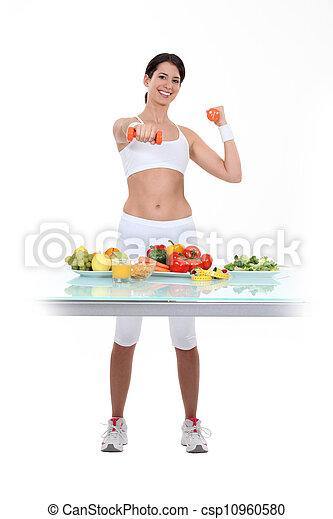 סגנון חיים בריא - csp10960580