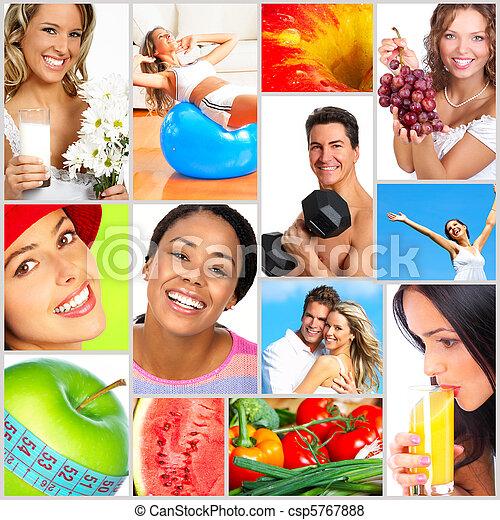 סגנון חיים בריא - csp5767888