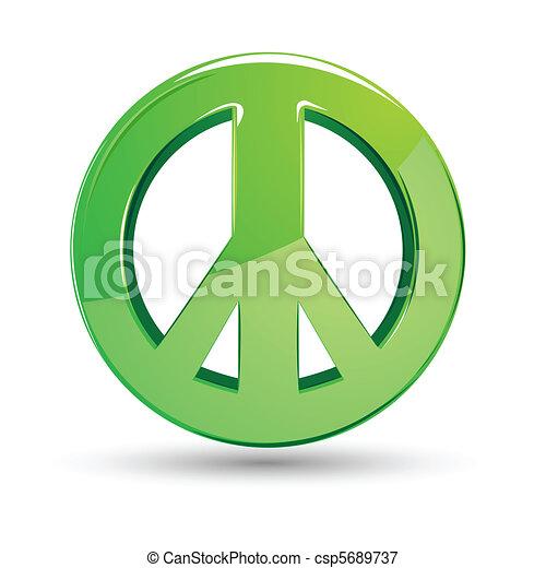 סימן של שלום - csp5689737