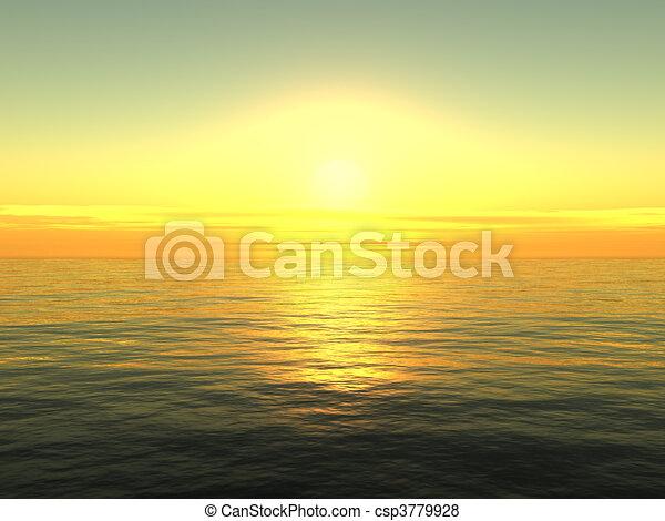 עלית שמש, ים - csp3779928