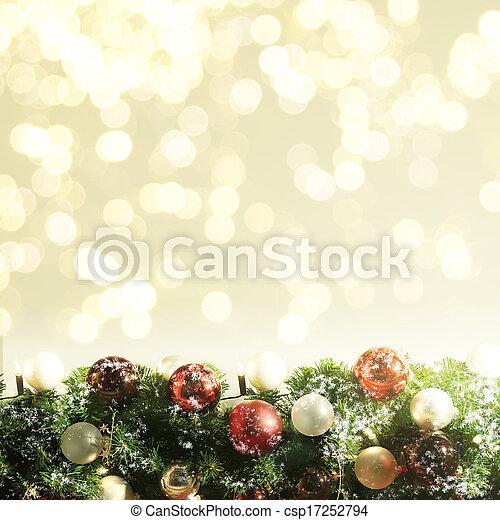 עץ, חג המולד, רקע - csp17252794