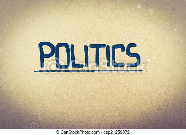 פוליטיקה, מושג - csp21259872