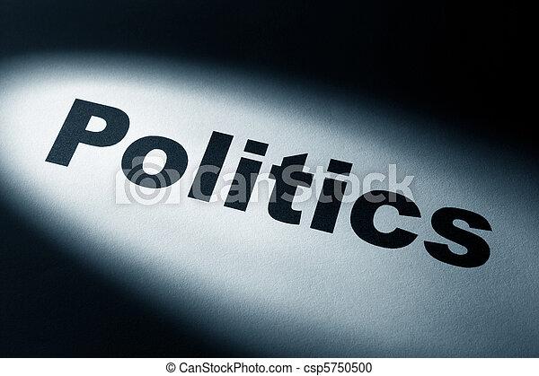 פוליטיקה - csp5750500