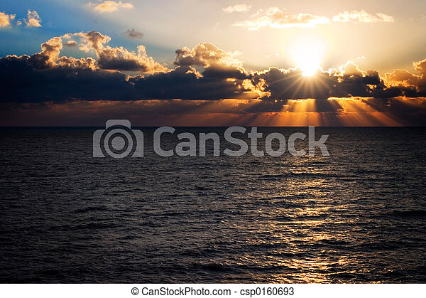 פלורידה, עלית שמש - csp0160693