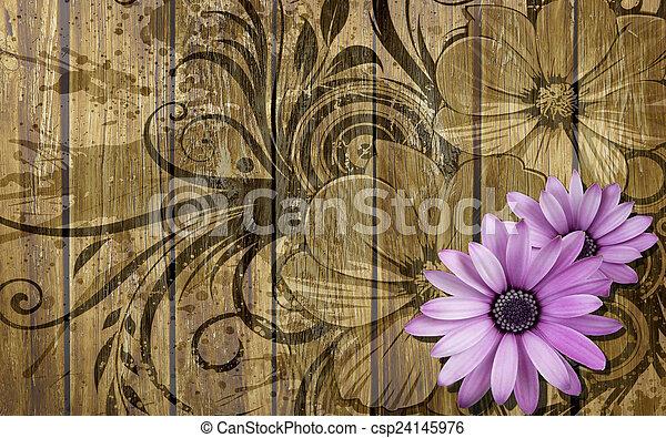 פרחים - csp24145976