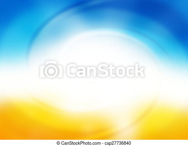קיץ, בהיר, רקע - csp27736840