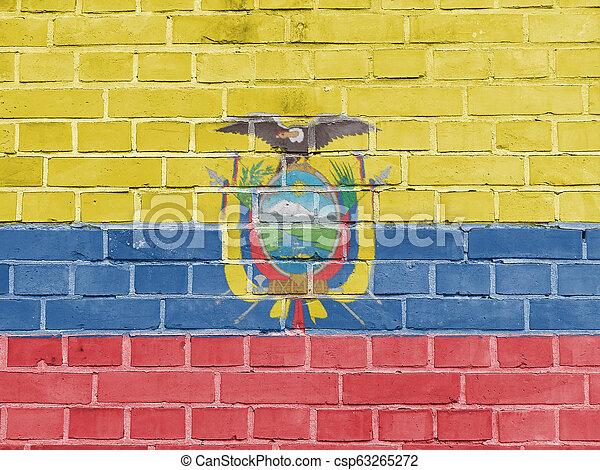 קיר, אכאאדוריאן, דגלל, אקוואדור, פוליטיקה, concept: - csp63265272