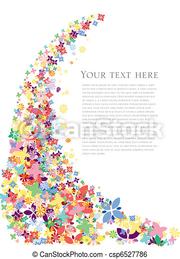 קפוץ פרחים, רקע - csp6527786