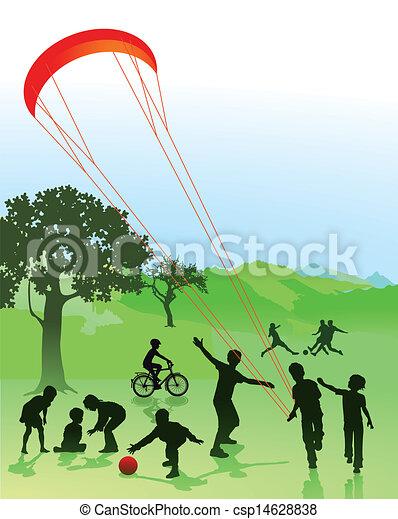 רשות פלסטינאית, ילדים, בני נוער - csp14628838