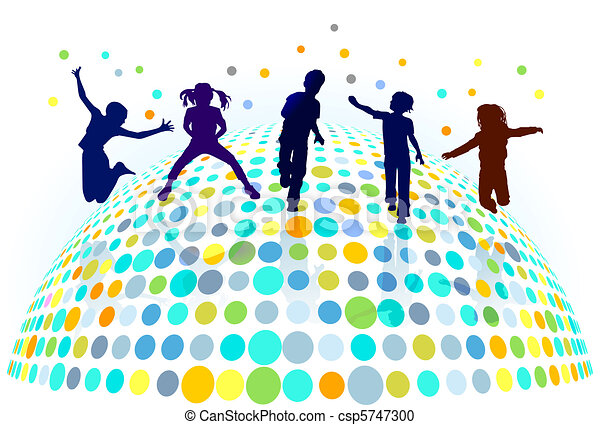 שחק, ילדים - csp5747300