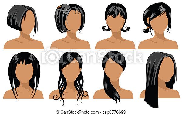 שיער, סיגנונות - csp0776693
