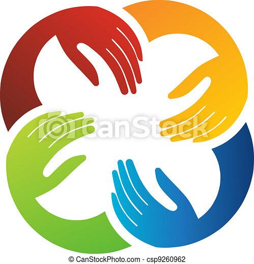 שיתוף פעולה, ידיים - csp9260962
