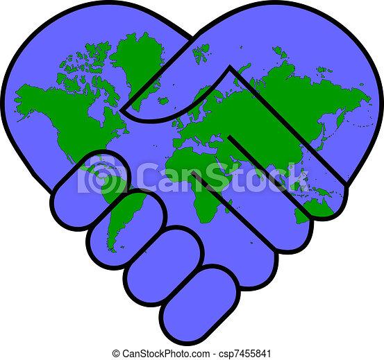 שלום של עולם - csp7455841