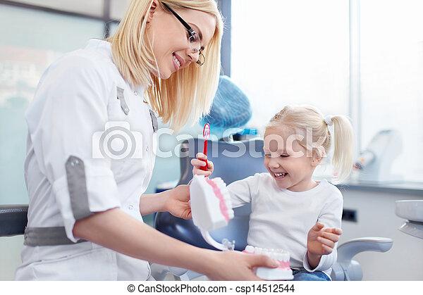 של השיניים - csp14512544