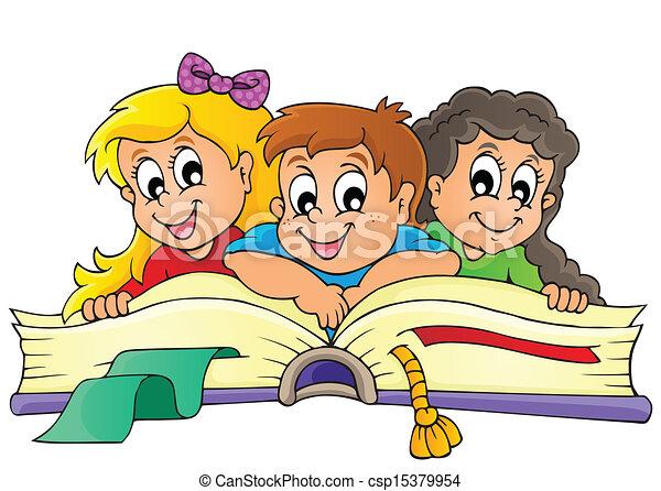 של נושא, דמות, ילדים, 5 - csp15379954