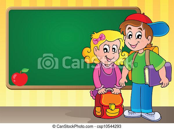 תימה, 3, דמות, schoolboard - csp10544293
