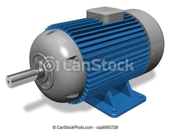 תעשיתי, מנוע חשמלי - csp6063728