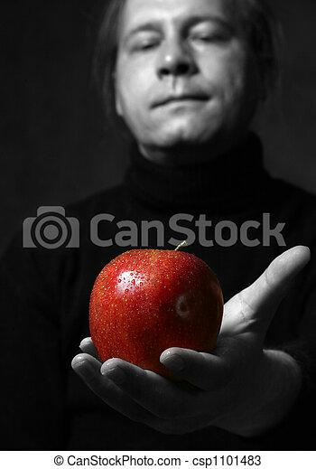 תפוח עץ, רטוב - csp1101483