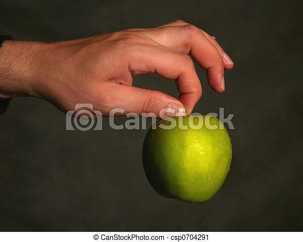 תפוח עץ, רטוב - csp0704291