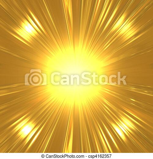 תקציר, suny, זהב, רקע - csp4162357
