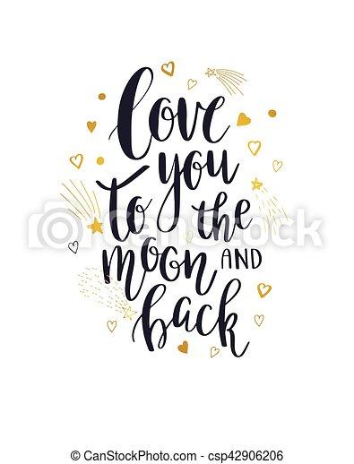 あなた, 愛, 背中, 月 - csp42906206