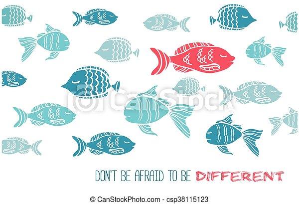 ありなさい, 別, 恐れている, ∥そうする∥, fish, グリーティングカード - csp38115123