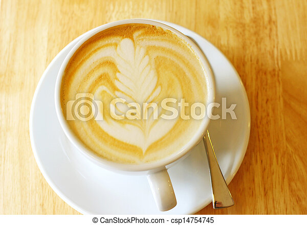∥あるいは∥, 芸術, カップ, カプチーノ, latte, コーヒー - csp14754745
