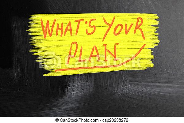 ある何が, あなたの, 計画 - csp20238272