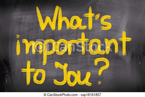 ある何が, 概念, あなた, 重要 - csp18161857