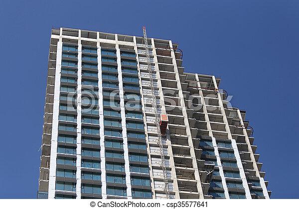 ある, 作られた, イスタンブール, 超高層ビル - csp35577641